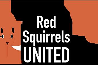 Red Squirrels United logo